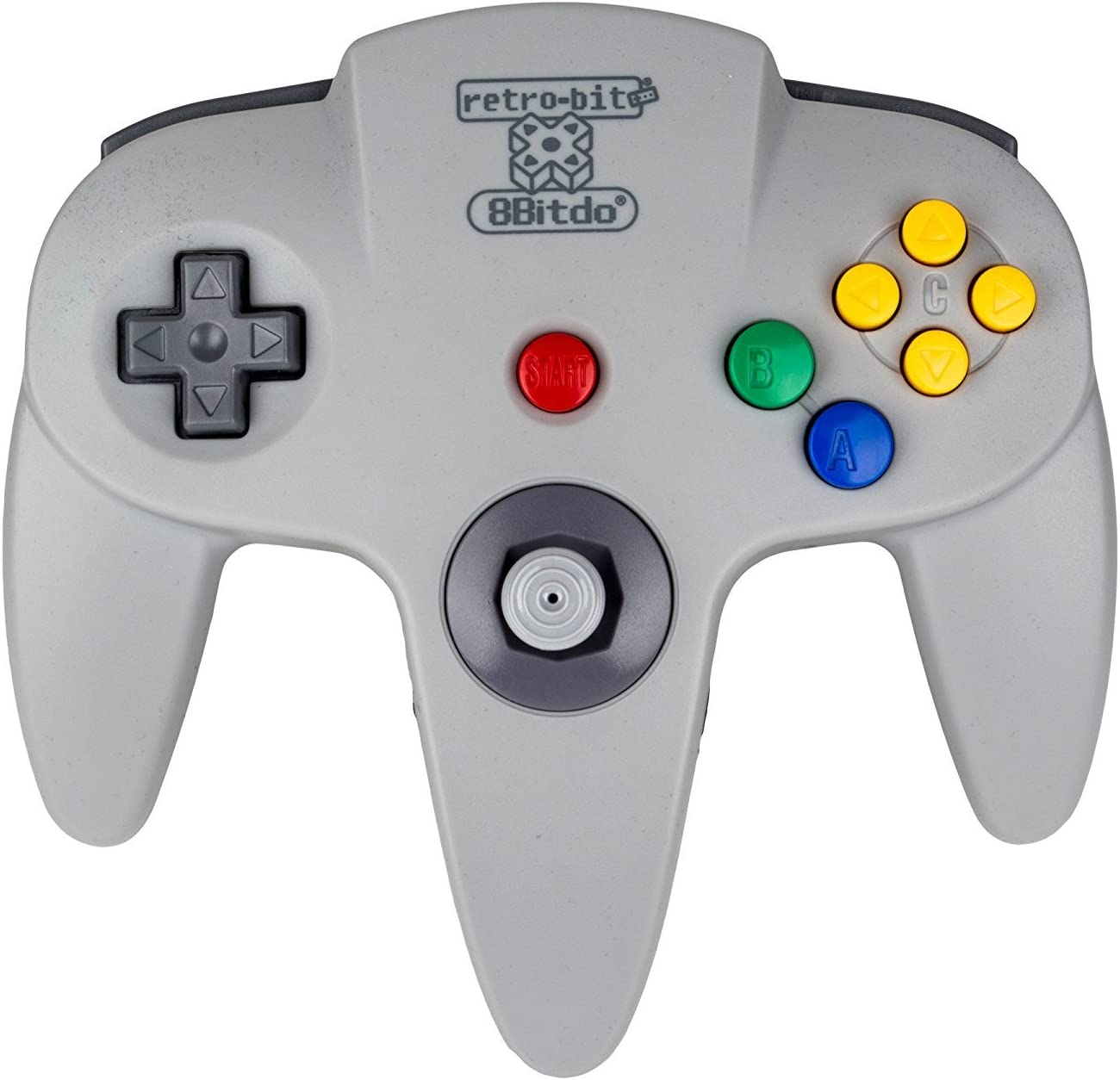 Amazon.com: Retro - Bit 8Bitdo RB8 - 64 Wireless Bluetooth N64 Styled  Controller for iOS, Android, PC, Mac, Linux: Video Games
