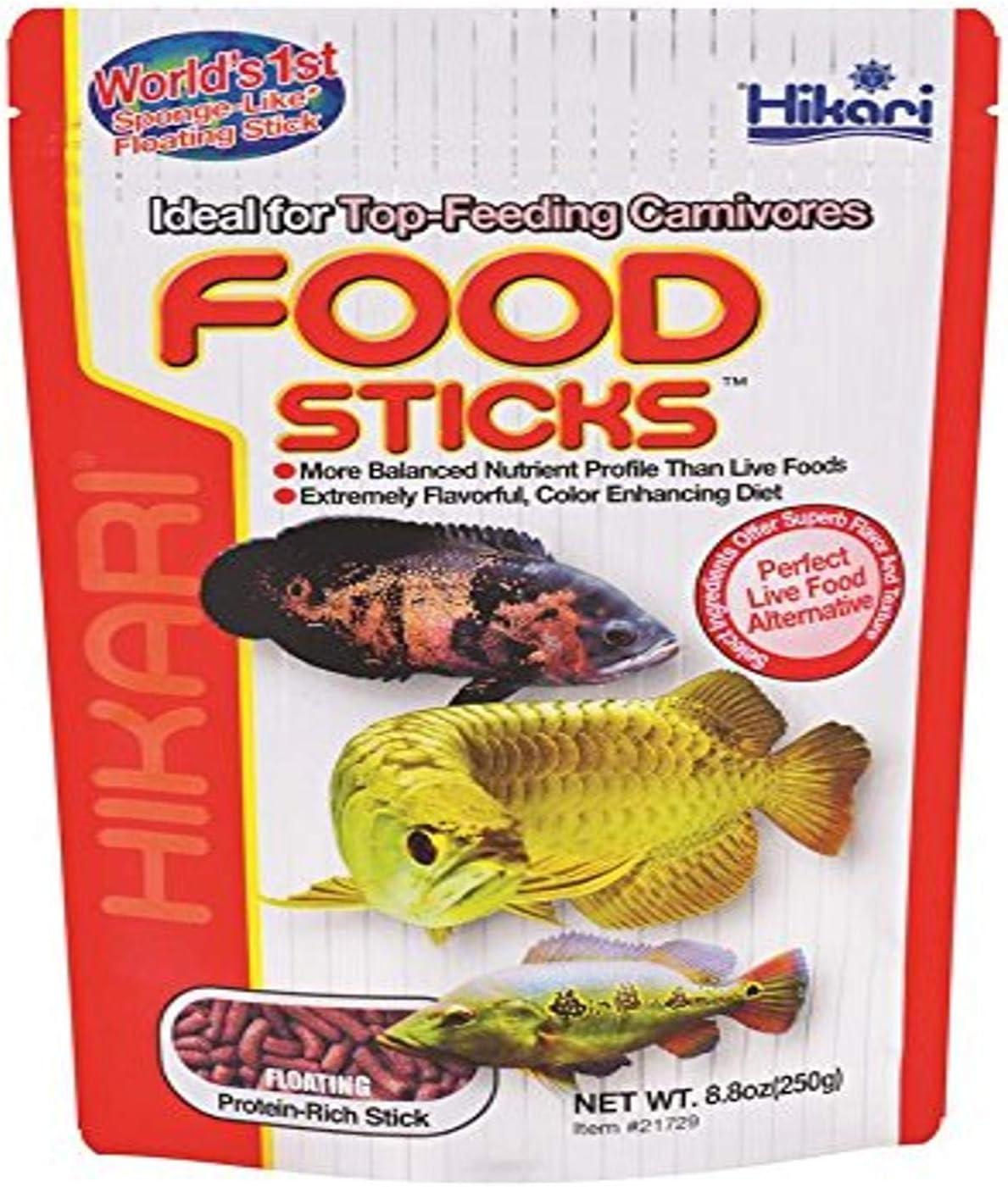 Hikari Floating Food Sticks for Pets, 8.8-Ounce