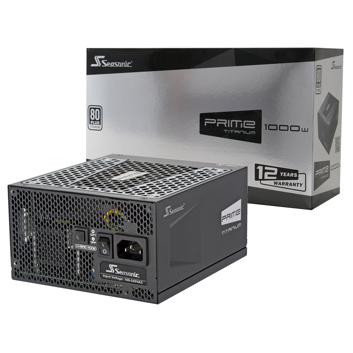 Seasonic SSR-1000TD Flagship PRIME SERIES 1000W Titanium Full Modular ATX12V & EPS12V 135mm FDB Fan Super Quiet Power Supply