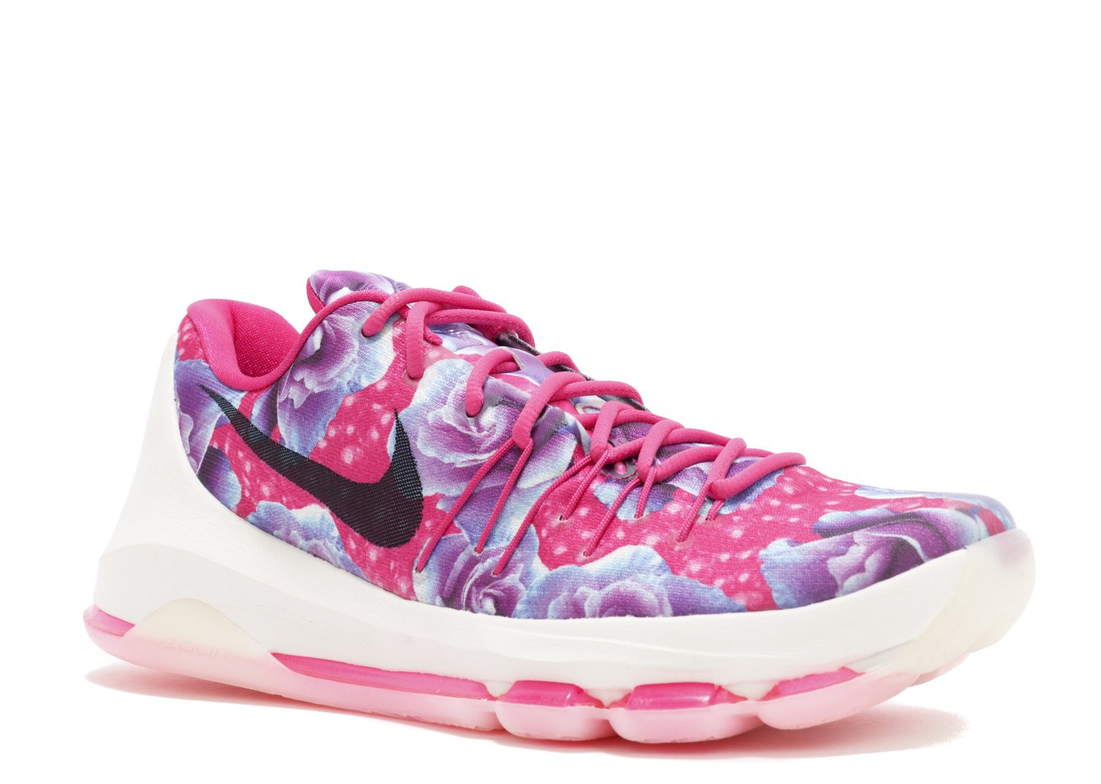 Nike Mens KD 8 PRM Aunt Pearl Vivid Pink/Black-Phantom Synthetic (8)