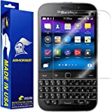 ArmorSuit MilitaryShield BlackBerry Classic Screen Protector Anti-Bubble HD Shield w/ Lifetime Replacements