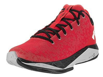 2457f3fab10 Under Armour Men s Fire Shot Red Basketball Shoes 10
