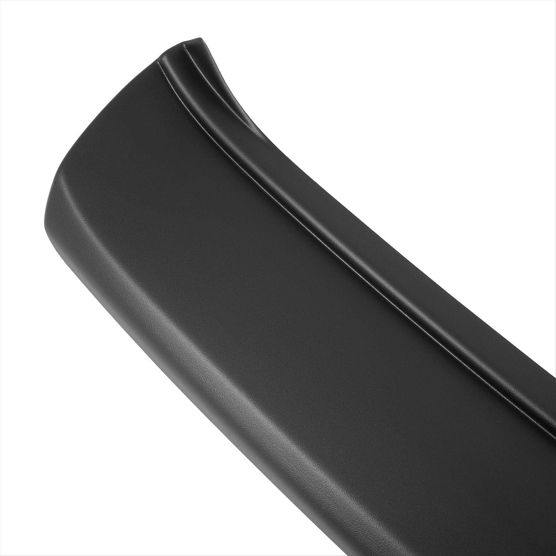 Aroba AR738 Ladekantenschutz kompatibel f/ür Toyota Yaris ab BJ 09.2011 bis 07.2014 Sto/ßstangenschutz passgenau mit Abkantung ABS Farbe schwarz