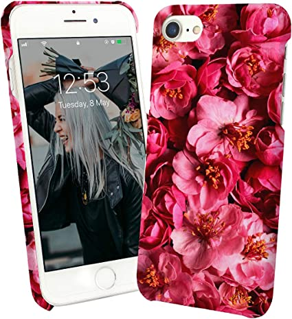 Natural Flowers Art Pink Bloom_012686 Protective Phone Mobile ...