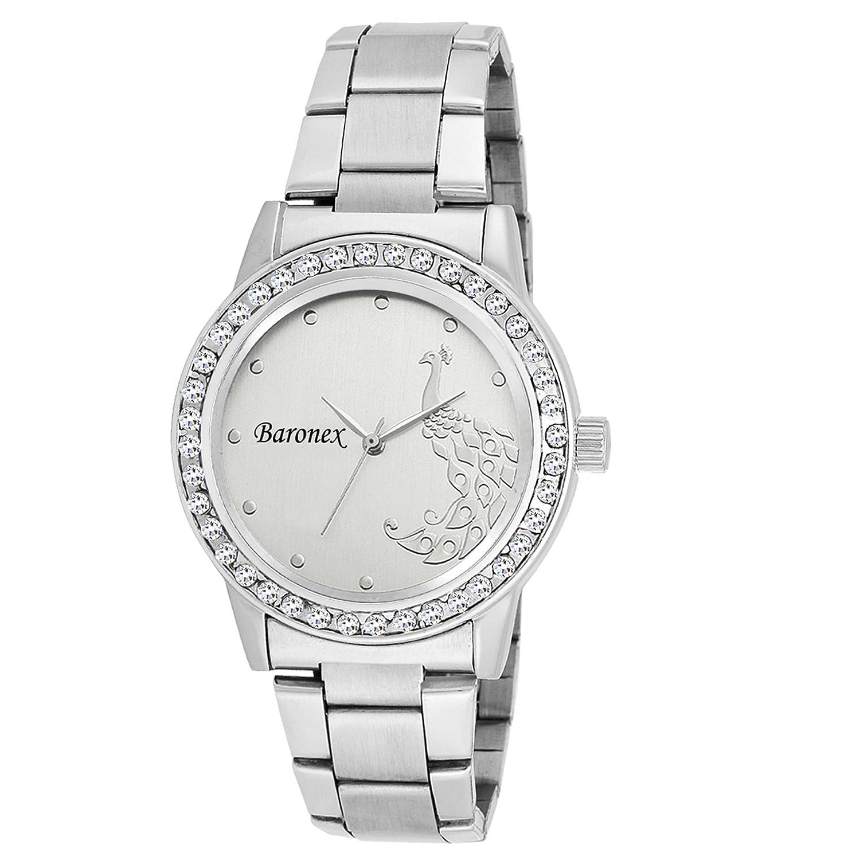 Buy Baronex Analog Silver Dial Girls\' Watch - BNX_00119V Online at ...