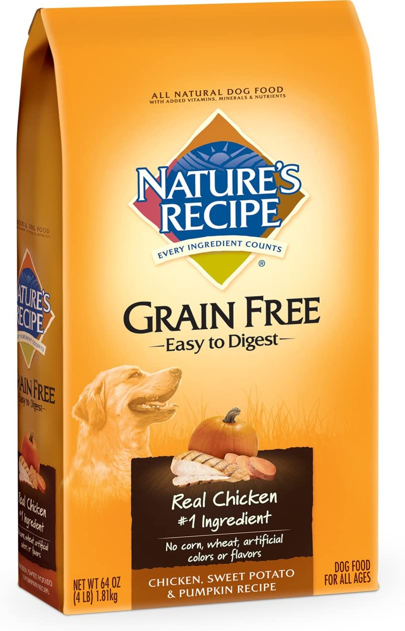 Nature's Recipe Grain Free Easy to Digest Chicken