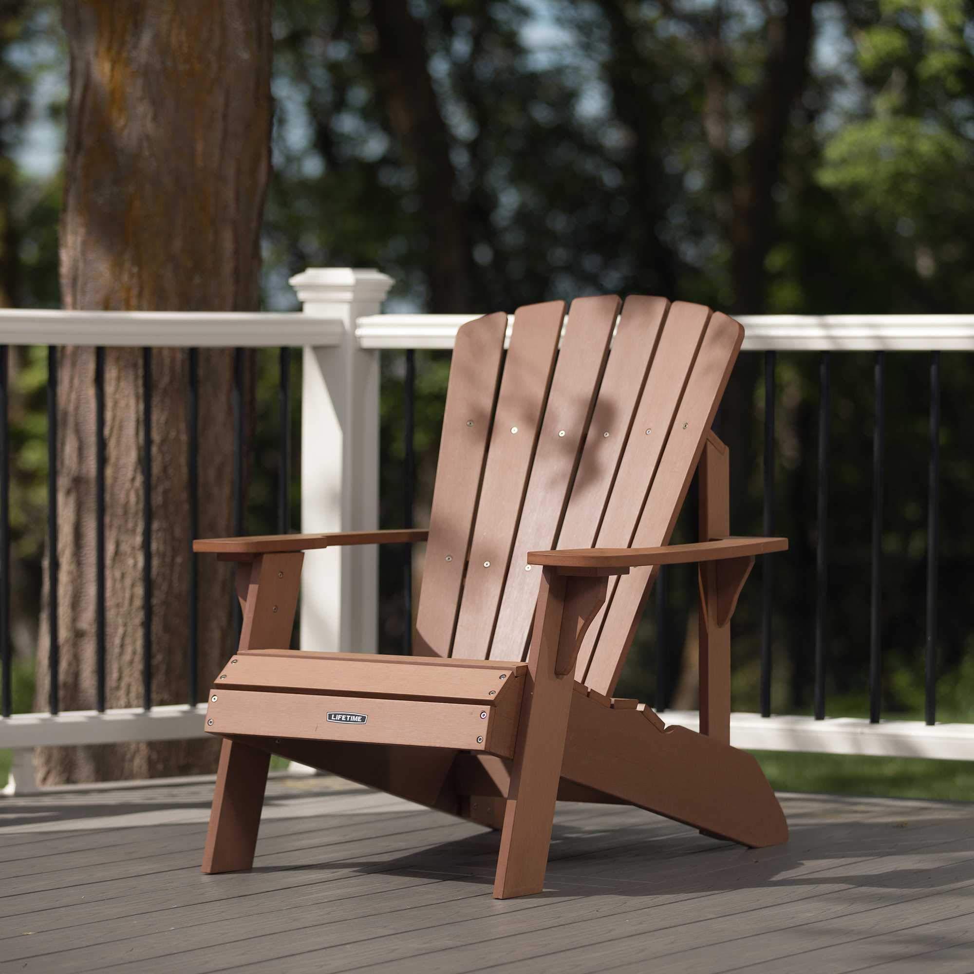 Faux Wood Adirondack Chai