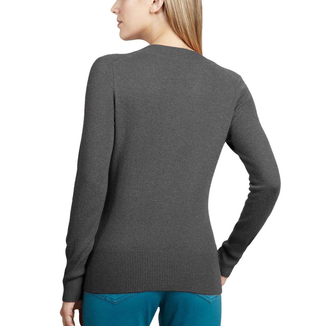 Parisbonbon Womens 100/% Cashmere Scoop Neck Vest