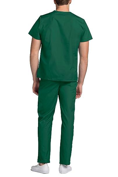 Uniforme Médico Unisex con Casaca y Pantalones - 701 Color HGR | Talla: M: Amazon.es: Ropa y accesorios