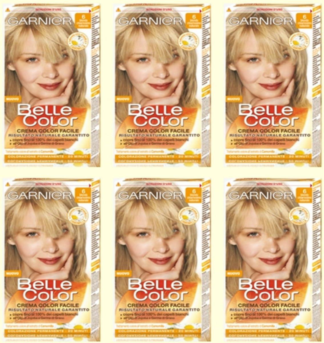 Garnier Belle Color 6 – Rubio Muy Claro Natural Tinte para el ...
