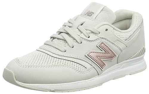 Wl697v1, Zapatillas para Mujer, Varios Colores (Phantom), 40.5 EU New Balance