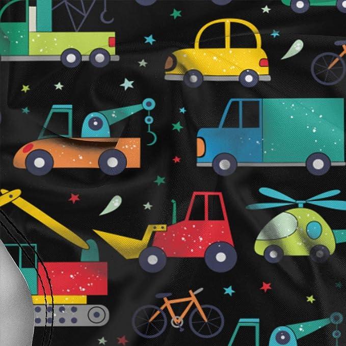 Huabuqi Cute Transport Pattern Cartoon Women's Stripe Halter