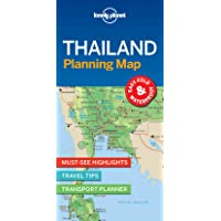 Lonely Planet Thailand Planning Map 1st Ed.