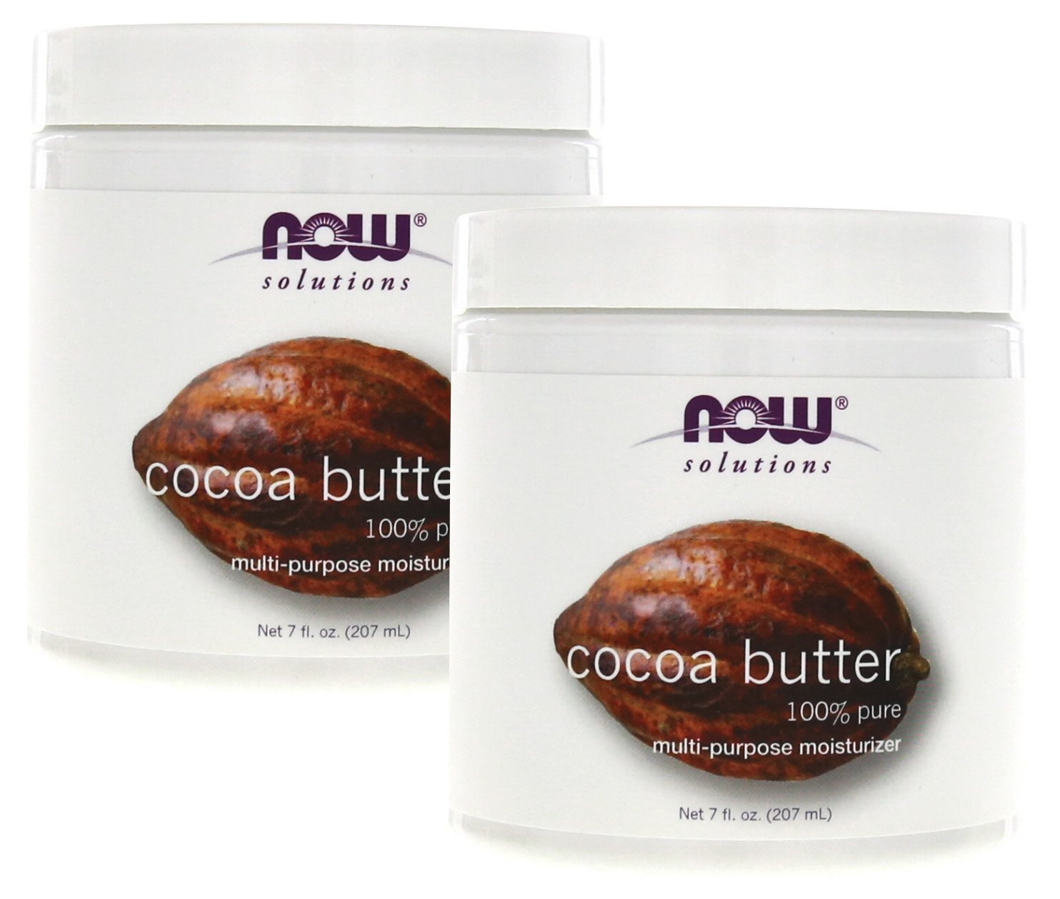 now foods cocoa butter 100 7 oz pack of 2