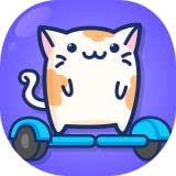 Cats on a Hoverboard - popular super simple fun games for free (2019) no wifi