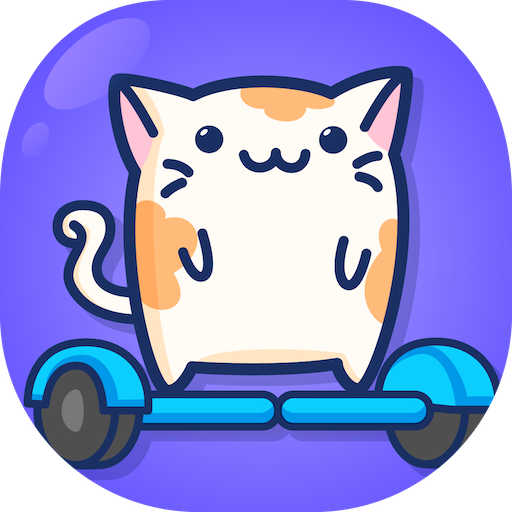 Cats on a Hoverboard - popular super simple fun games for free (2018) no wifi (Zoo Cat)