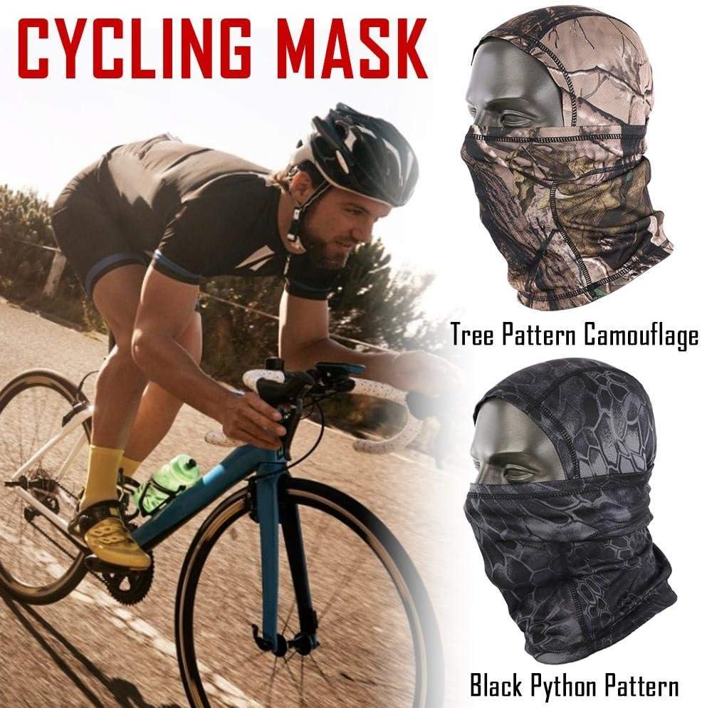 Cou Masque Respirant L/éger pour Vent du Soleil pour Le V/élo en Plein Air SUPERLOVE Masque De Protection pour Le Visage Antid/érapant Masque De Camouflage