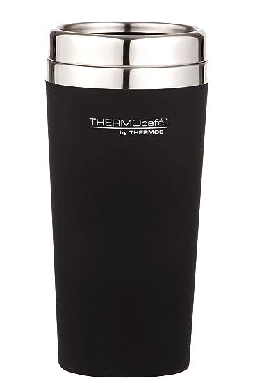 d141624b635 Thermos THERMOcafe Travel Tumbler, 420ml, Matte Black, DFR9BLK6AUS ...