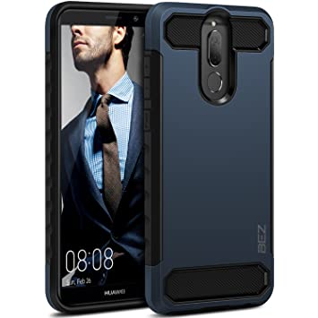 BEZ Funda Huawei Mate 10 Lite, Carcasa Compatible para Huawei Mate 10 Lite, Ultra Híbrida Gota Protección, Cover Anti-Arañazos con Absorción de Choque ...