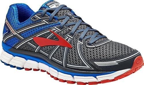 fbccddccdf0 Brooks Men s s Defyance 10 Running Shoes Multicolour (Ebony Blue Orange  025) 6.5