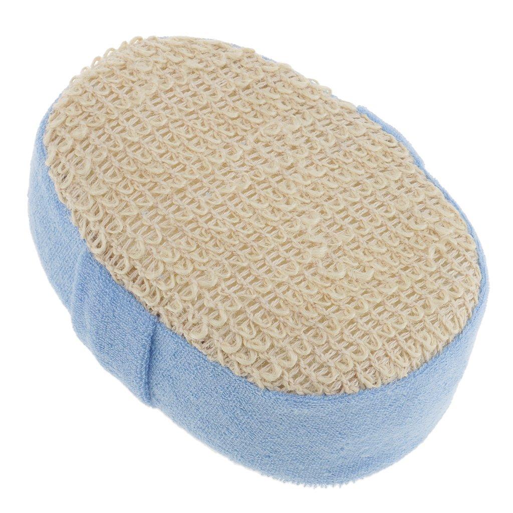 Dovewill Handheld Soft Bath Sponge Massage Shower Exfoliating Body Skin Exfoliator Cleaning Scrubber Washing Pad