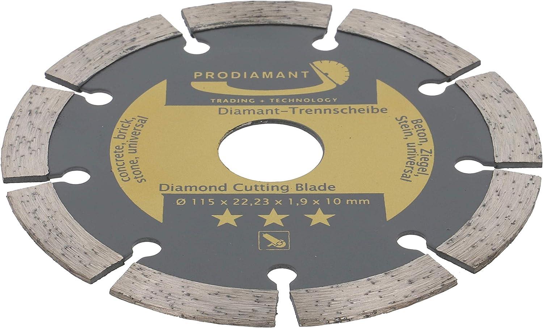 für Beton Kalksandstein Klinker Diamanttrennscheibe 115 x 22,2 SpeedSuper