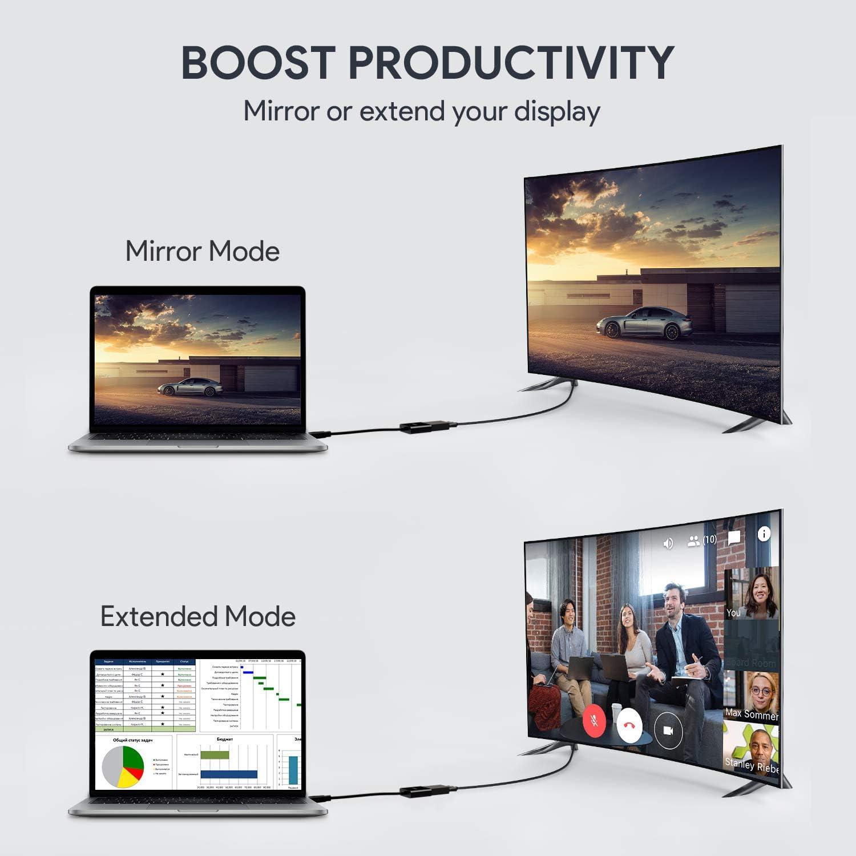 AUKEY CB-v4/ /Adattatore HDMI a VGA Colore: Nero 1080p
