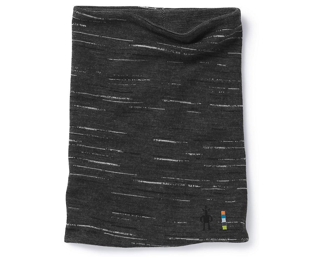 Smartwool Merino 250 Reversible Pattern Neck Gaiter Charcoal-Black 1FM