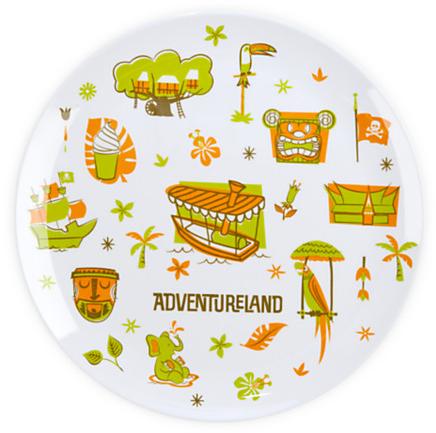 Adventureland Plate - 8'' | Disney Parks Product | Kitchen & Dinnerware | Disney Store