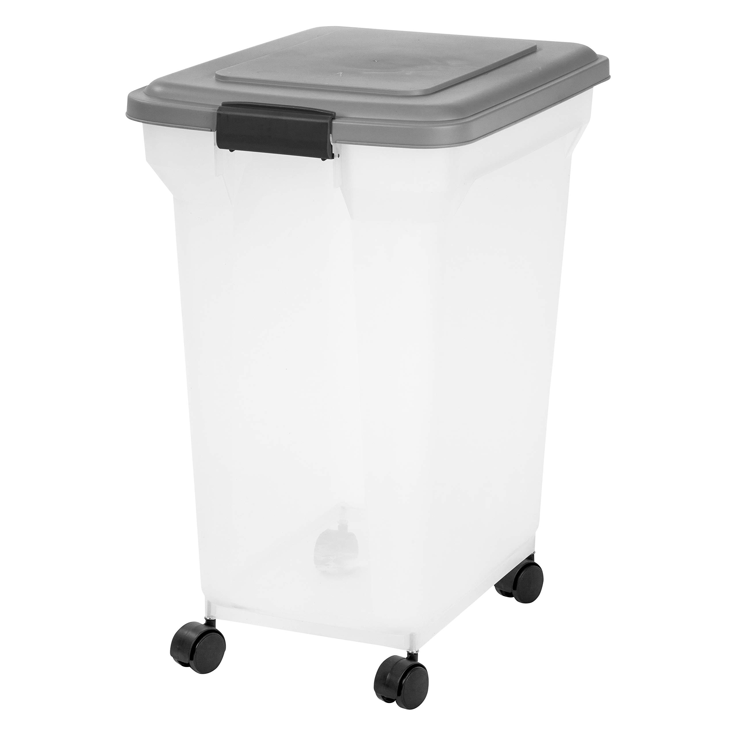 Inspired Essentials 55 Qt Plastic Airtight Pet Food Storage Container by Inspired Essentials