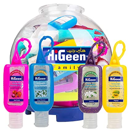 Amazon Com Higeen Advanced Hand Sanitizer Refreshing Gel With