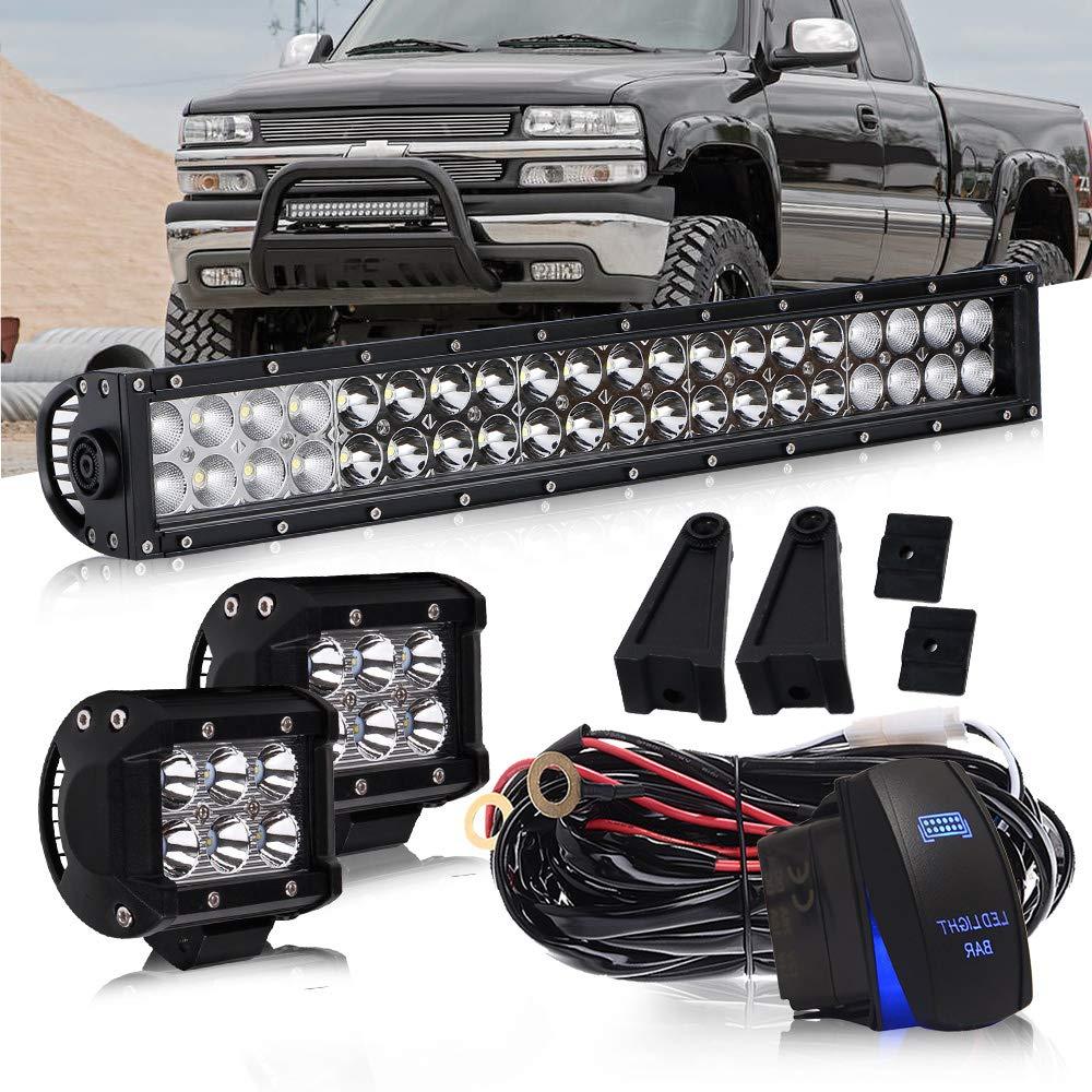 Light Bar Ford Super Duty Windshield On Jeep Jk Led Fog Light Wiring on