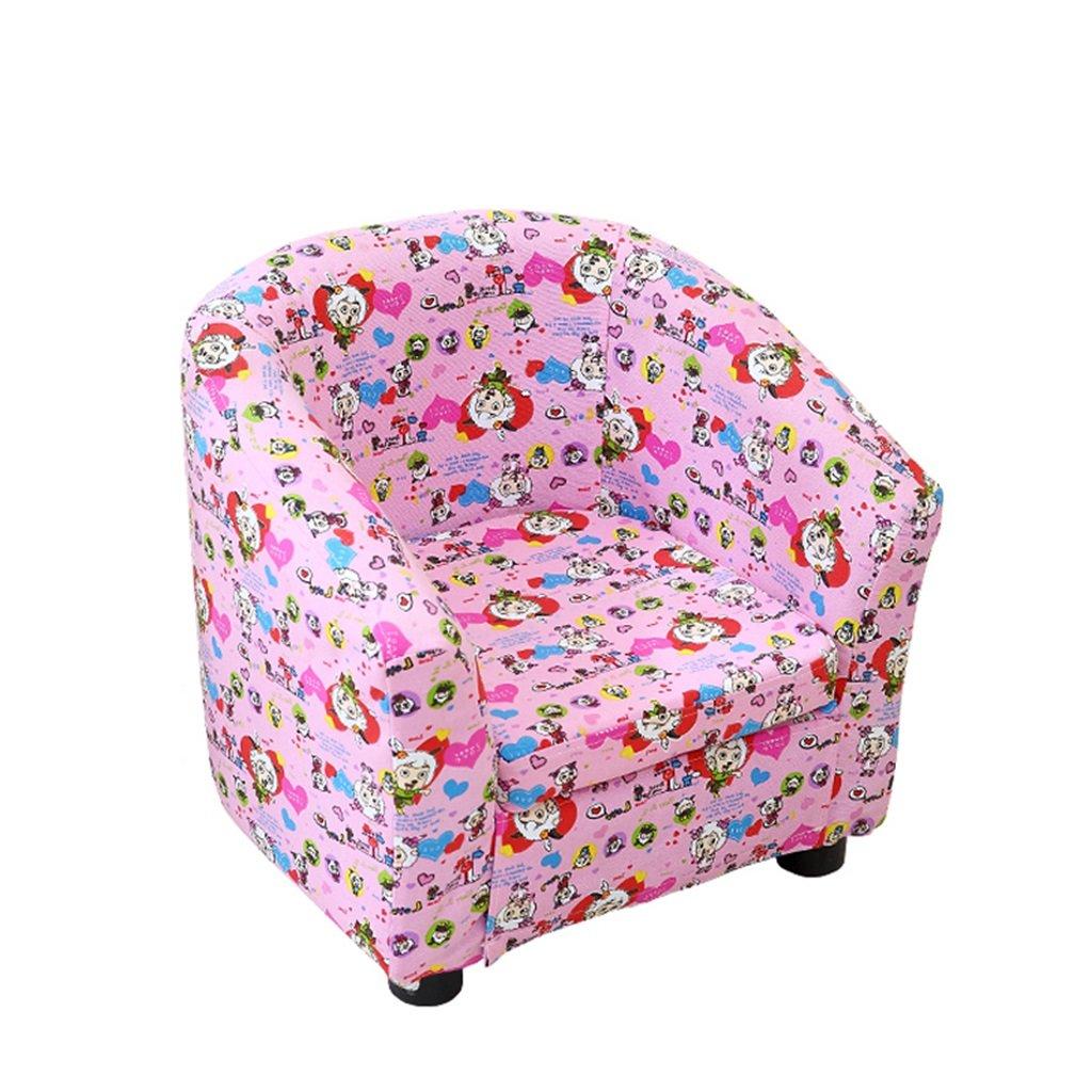 bienvenido a comprar HEUFHU888 Sofá Silla cómoda y Sencilla para niños Silla Silla Silla Moderna Sillón de sofá de Dibujos Animados Lindo (Color   B)  Seleccione de las marcas más nuevas como
