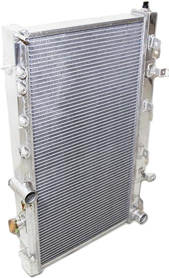 For 02-07 Subaru Impreza Wrx Sti 2.0L 2.5L Dual Core Aluminum Radiator Assembly