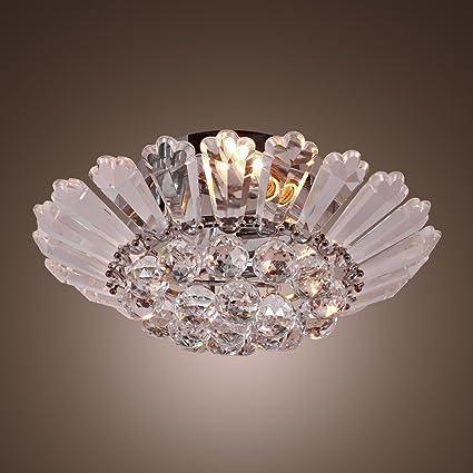 LightInTheBox Modern Semi - Flush Mount in Crystal Feature, Home ...