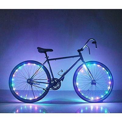 Soondar GEC0041 Bicycle Bike Rim Lights, LED, Multicolored: Automotive