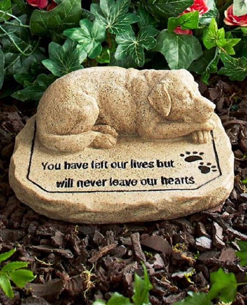 Pet Memorial Stones Dog (Original Version) (Original Version) by Hi-Tech