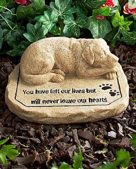 amazon com pet memorial stones dog everything else
