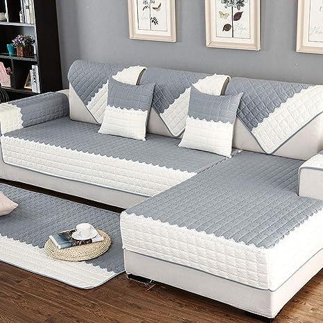 Amazon.com: Cojín para sofá, cojín de asiento de tela ...