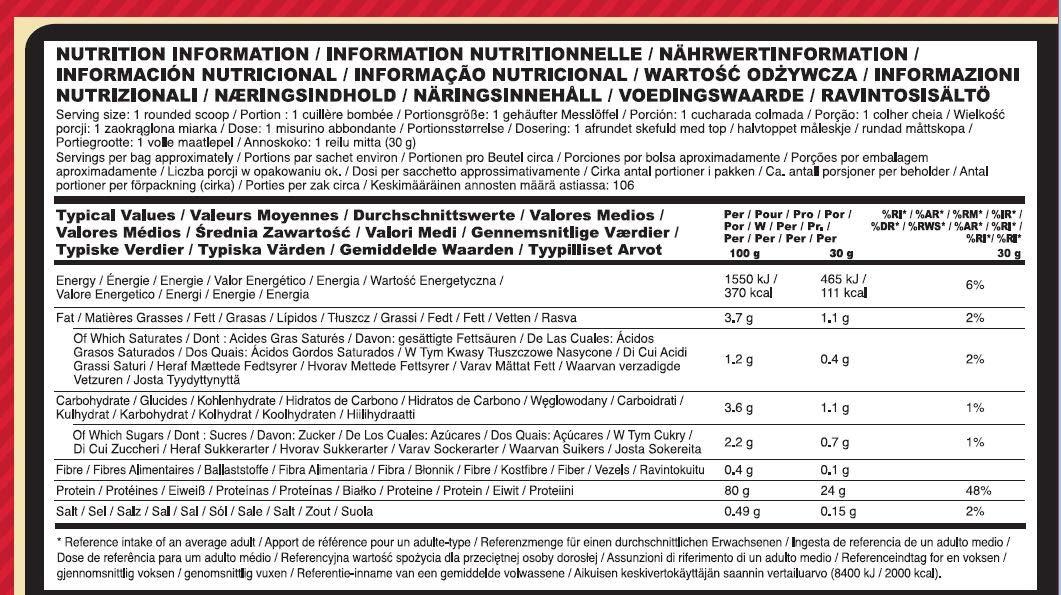Optimum Nutrition Gold Standard 100% Proteínas Whey en Polvo, Fresa 3.18Kg