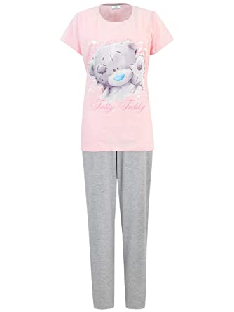 77edcb2084 Tatty Teddy Womens Me to You Pyjamas Pink Size XX-Large  Amazon.co.uk   Clothing