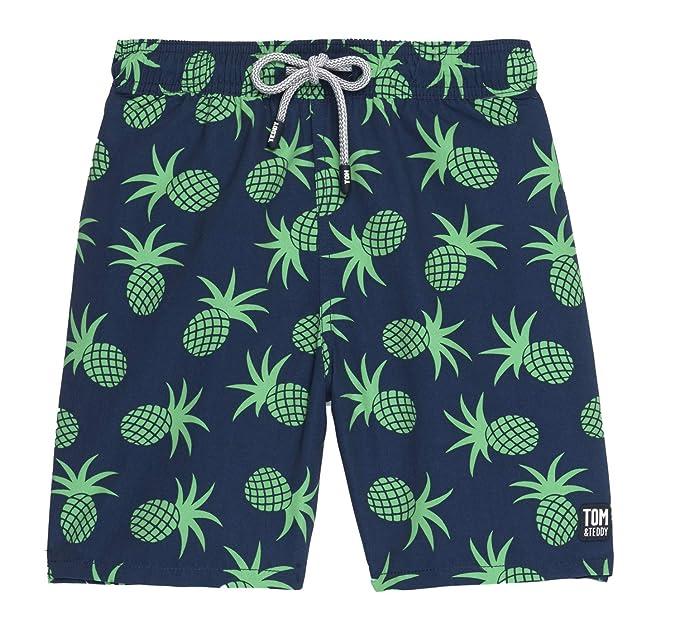 f95342c84c Tom & Teddy Mens Pineapple Swim Trunks Swim Trunks: Amazon.ca: Clothing &  Accessories