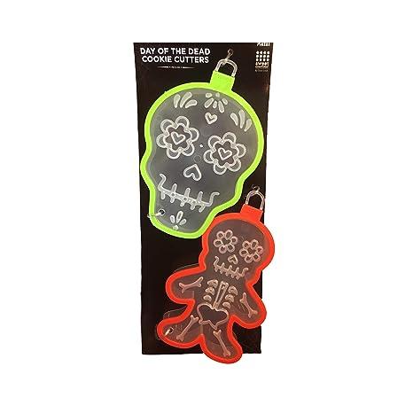 Amazon.com: Juego de 2 moldes para galletas con diseño de ...