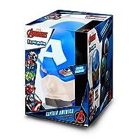 Captain America Official Illumi-Mates Bedside Lamp