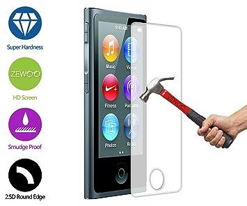 Para Apple iPod Nano 7 Protector de Pantalla ZeWoo® Cristal Vidrio Templado Premium (9H *2.5D, 0,33mm): Amazon.es: Electrónica