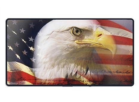 Amazon Com American Flag Eagle Wallpaper Comfort Cloth Cover Non