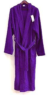 Spa   Resort Heavy 3LB Hooded Terry Cloth Bathrobe. Full Length 100% Turkish  Cotton f06db8834