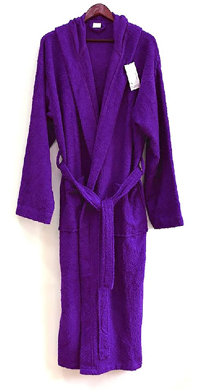 Spa /& Resort Heavy 3LB Hooded Terry Cloth Bathrobe Full Length 100/% Turkish Cotton hddfhunter