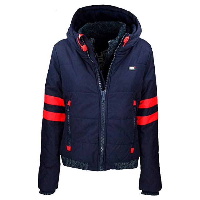 Superdry Downtown Sport, Chaqueta para Mujer: Amazon.es ...