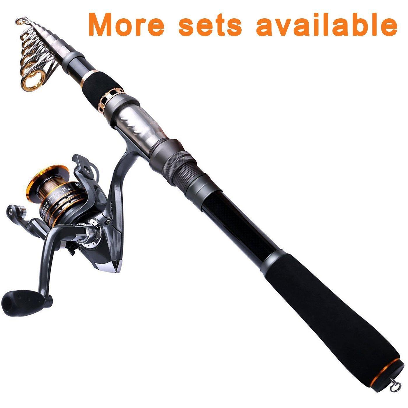 Plusinno Plusinno Spinning釣りポールロッドとリールコンボ釣り線で B0728H9BMF 1.8M、釣りキットパッケージのスターター 1.8M 5.91FT Rod+reel(No Lures&Line) B0728H9BMF, 焼津市:00a1a81c --- hasznalttraktor.e-tarhely.info